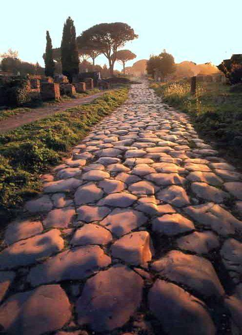 Appian way rome off the beaten barth outside the city wall