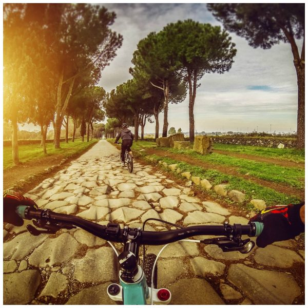 Appian Way Rome off the beaten path outside the city wall