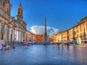 Piazza Navona during Rome City Centre Walking tour