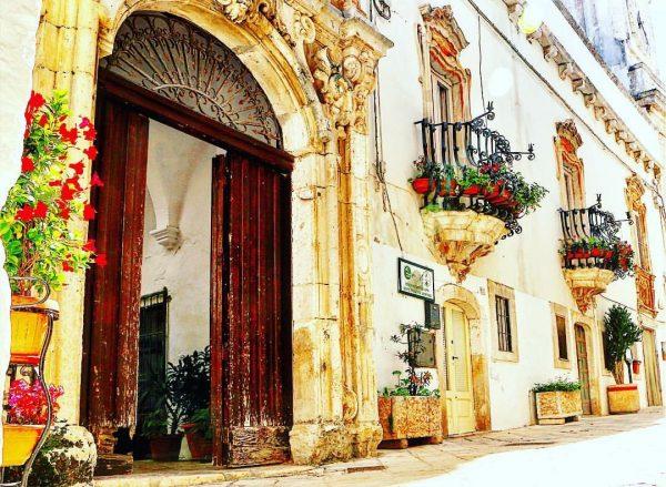 Puglia Locorotondo historic centre