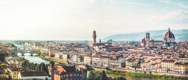 Essential Italy Escorted tour Florenze city centrePanorama