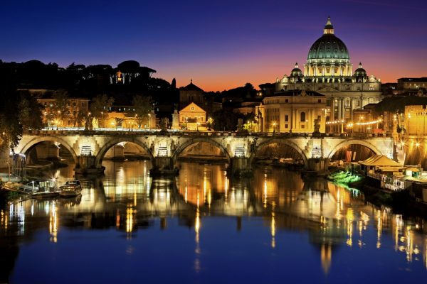 Essential Itlay Escorted tour Rome Panorama