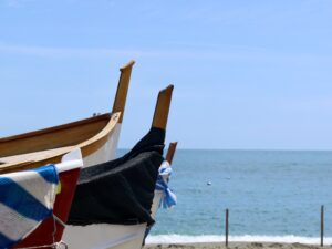Italy Beach and Culture